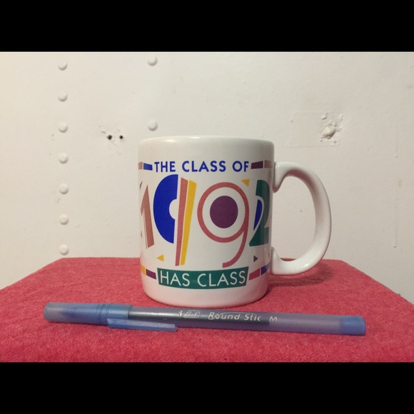American greetings other rare vtg american greetings class of 92 rare vtg american greetings class of 92 cup m4hsunfo Gallery